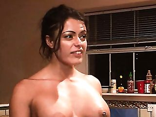 Nothing Special Just Two Dirty Whores Flashing Tits As Posing Without Bra