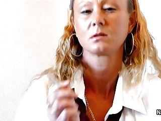 Nataliek - Headmaster Chastisement Point Of View Smoking, Flashing And Fingerblasting