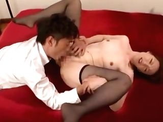 Fascinating Cougar From Japan Delights With Prick In Scenes