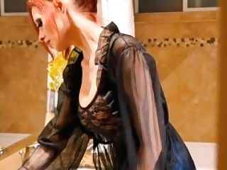 Shandafay - Step Mom Spyed On (wash Hair Bj, Shampoo, Fuck Red-haired)