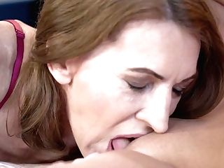 Youthful Lezzie Viol Is Rimming Anal Invasion Crevice Of One Matures Bitch