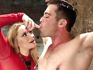 Blonde Whore Plays With The Penis In Pervy Female Dom Xxx