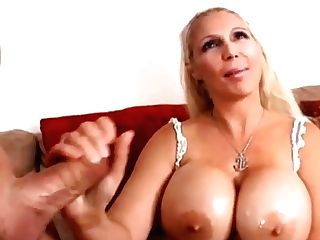 Faux Blonde With Big Faux Tits
