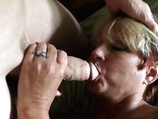 Wifey Sucking Trouser Snake