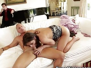 Best Adult Movie Stars Taylor Reed, Adriana Chechik, Marcus London In Crazy Pop-shots, Cougar Hump Clip