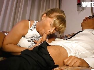 Debby Fountain Voluptuous German Matures Entices And Fucks Stranger