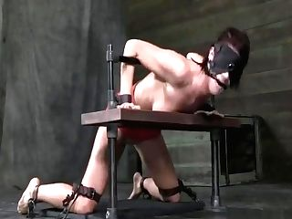 Tall Mummy Shackled In Metal And Leather 1