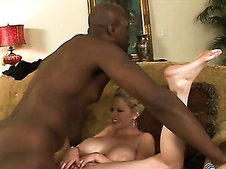 Limber Big Titted Blonde Whore Wifey Cheats On Hubby With Big Black Cock Holder