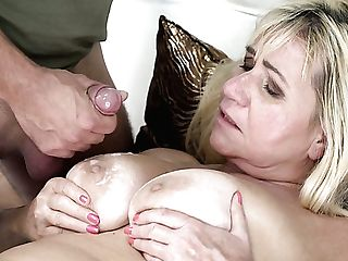 Still Hot Looking Chunky Matures Blonde Pam Pink Gives A Good Deep Throat
