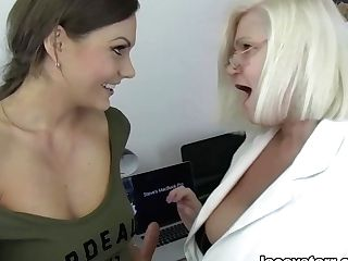 Lacey Starr & Tina Kay In Dr. Lacey And The Nymphomaniac - Laceystarr