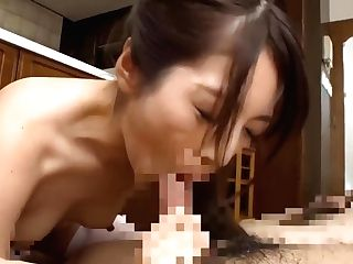 Asian Japanese Stunner With Older Dude In Old Act