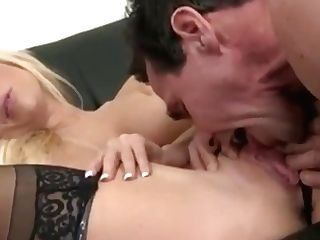 Tasha Reign And Jacqueline Back - Assistant In Black Stockings From North Pole 93