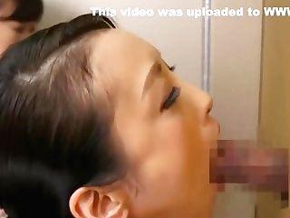 Japanese Damsel Dick Facefucking