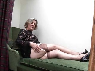 Hairy Granny Upskirt And Cunt Taunt
