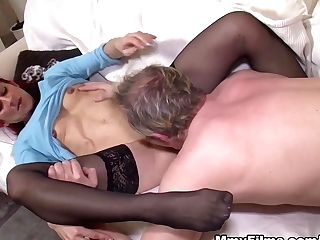 Finest Pornographic Star In Best Stockings, Diminutive Tits Xxx Movie