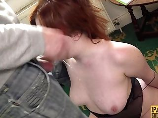 Hot Ginger-haired Mummy Kitty Misfit Rough Orgy