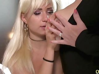 Gabi Gold And Lacey Starr In Brit Mummy Lezzy Gobbling