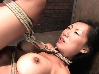 Asian Wicked Mummy Tia Ling Incredible Bondage & Discipline Lovemaking Clip