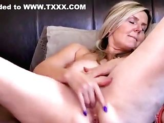 Fine-looking Experienced Woman Have Fun Her Self