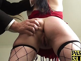 Backside Ravaged Cougar Tart Gets Her Face Smacked And Fucked