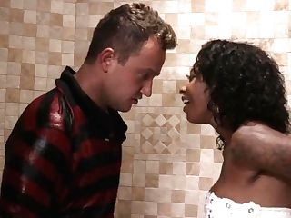 Sneaky Black Mummy Fucks Daughter-in-law's Beau