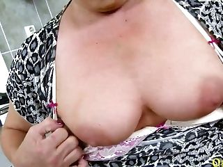 Hot Matures Female Solo In The Kitchen