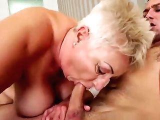 Decadent Granny Astrid Entices Horny Rob And Fucks Him Insanely