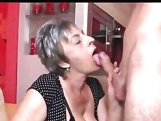 Granny Internal Ejaculation