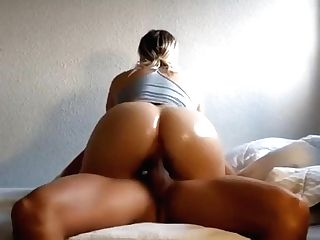 Arousing Blonde Mummy With A Marvelous Backside Rails A Big Dick Flick
