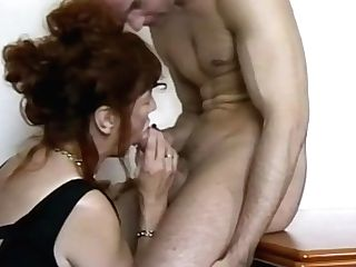 Mom Helping Self Suck My Own Dick