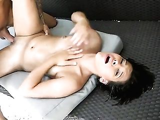 Teenage Tyler Steel Gets Her Mouth Pumped Total Of Love Torpedo In Dick Sucking Activity With Hot Dude