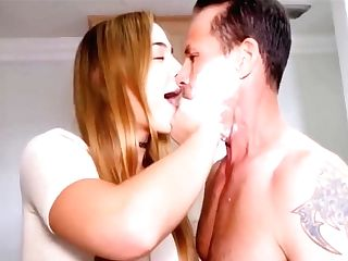 Stepparent And Step Daughter-in-law Fuck While Mom Taking A Bathroom