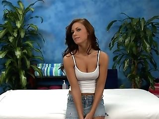 Tender Dark-haired Whitney Is Ready To Love Total Assets Rubdown