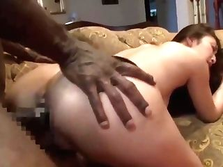 Japanese Reiko Kobayakawa Very First Big Black Cock Practice Two