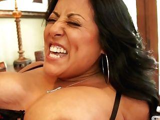 Latina Mommy Thrilling Hard Hook-up Movie