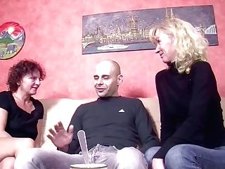 German Big Dick Man Tempt Step-mom And Auntie To Fuck