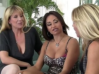 There Are Three Dick Greedy Cougars Nikki Charm, Claudia Valentine