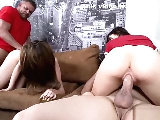 Step Dad Fucks Playfellow's Daughter-in-law In Front Of Mom Driving Lessons