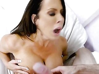 Black-haired Brick Danger Has Some Time To Give Some Oral Pleasure