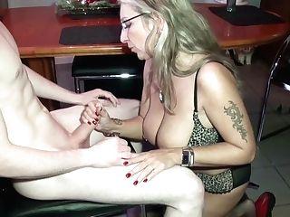 German Stepmom Train Cherry Youthful Boy How To Fuck Right