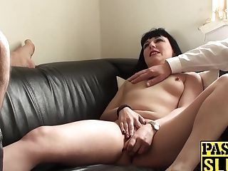 Black Haired Bimbo Wants To Attempt Something Fresh And Weird