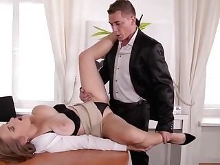 Manager Fucks Big-titted Assistant